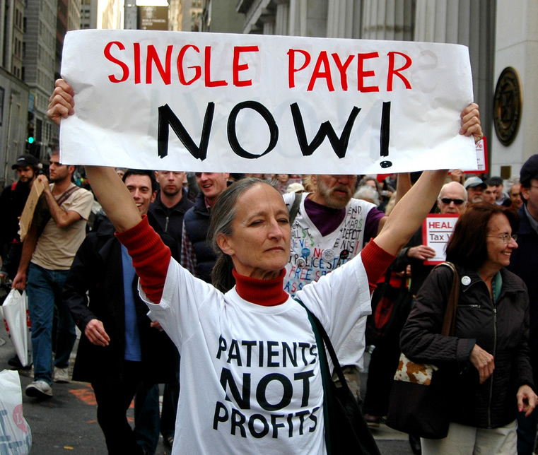 Single Payer Healthcare Supporter